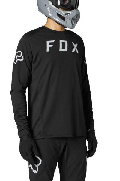 блуза fox defend jersey black
