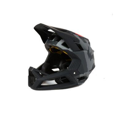 каска fox proframe helmet black camo