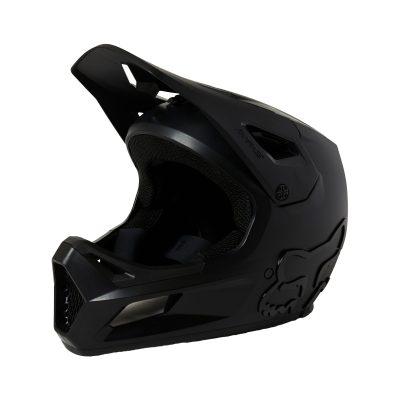 каска fox rampage helmet black