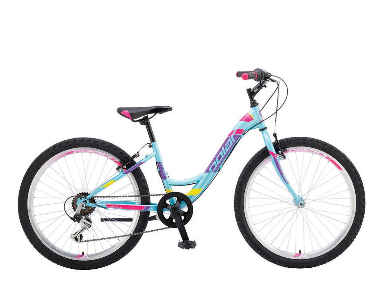Велосипед за момичета 24 тюркоаз