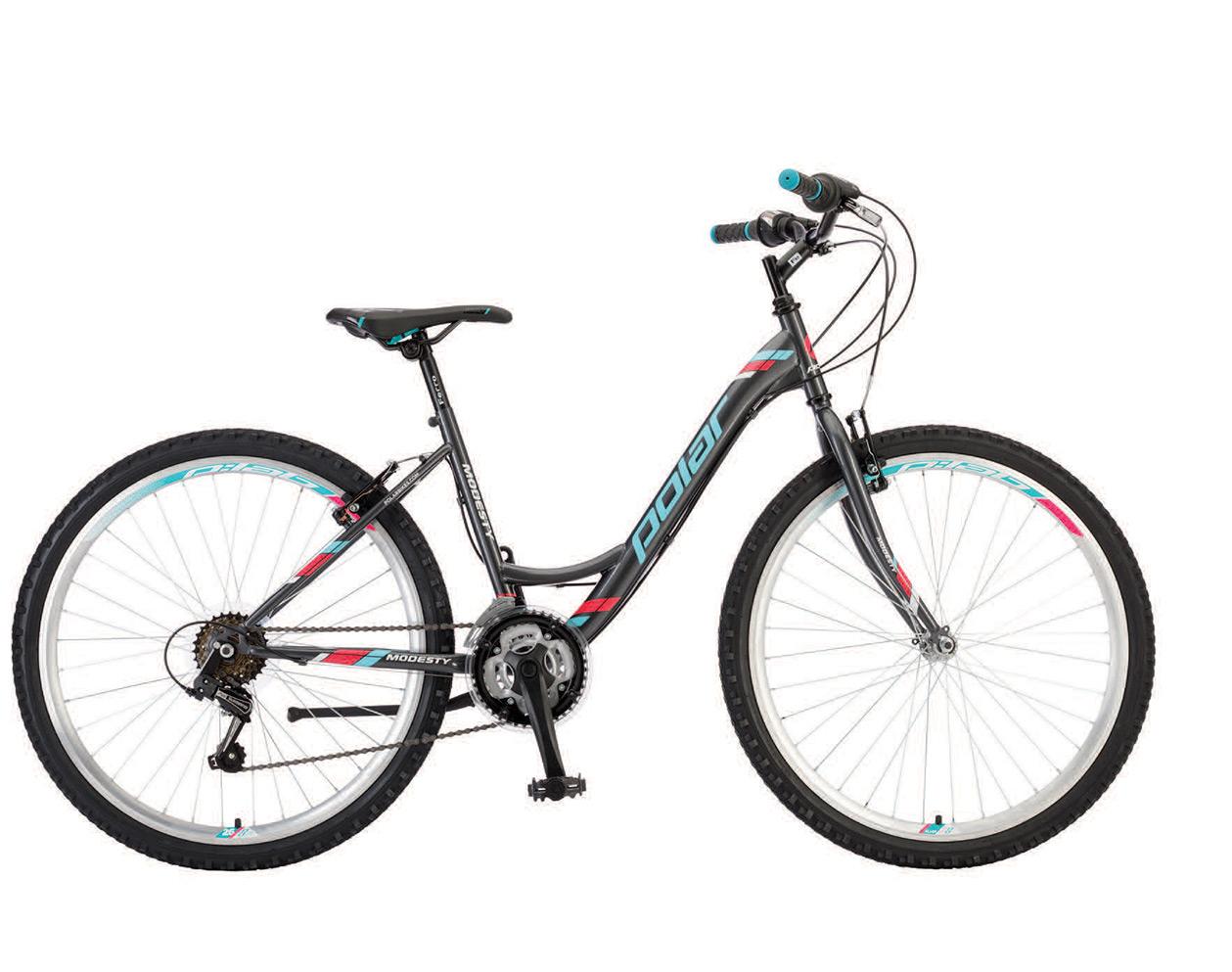 велосипед за момичета polar modesty 26 антрацид