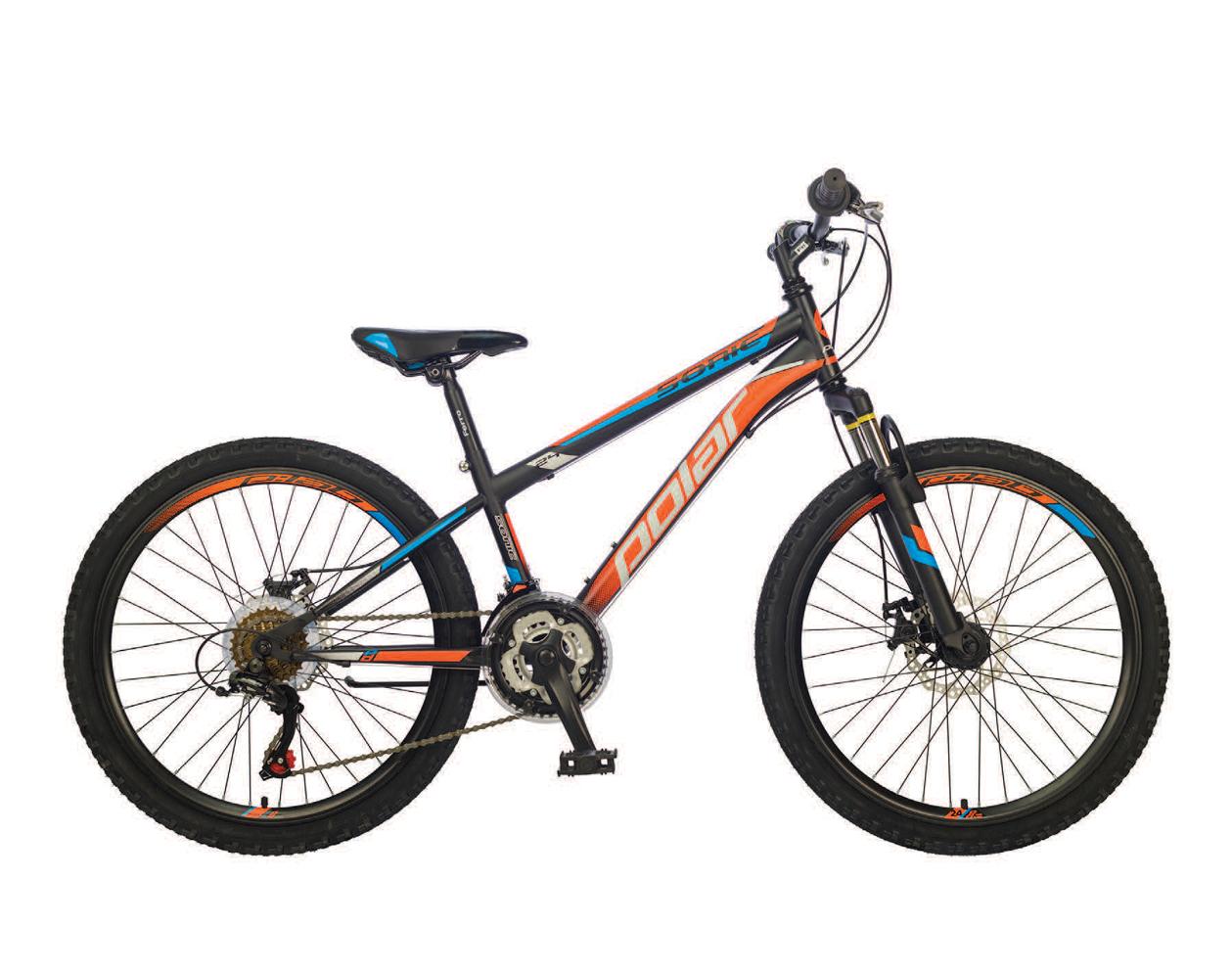 Велосипед Polar Sonic 24 Black-orange