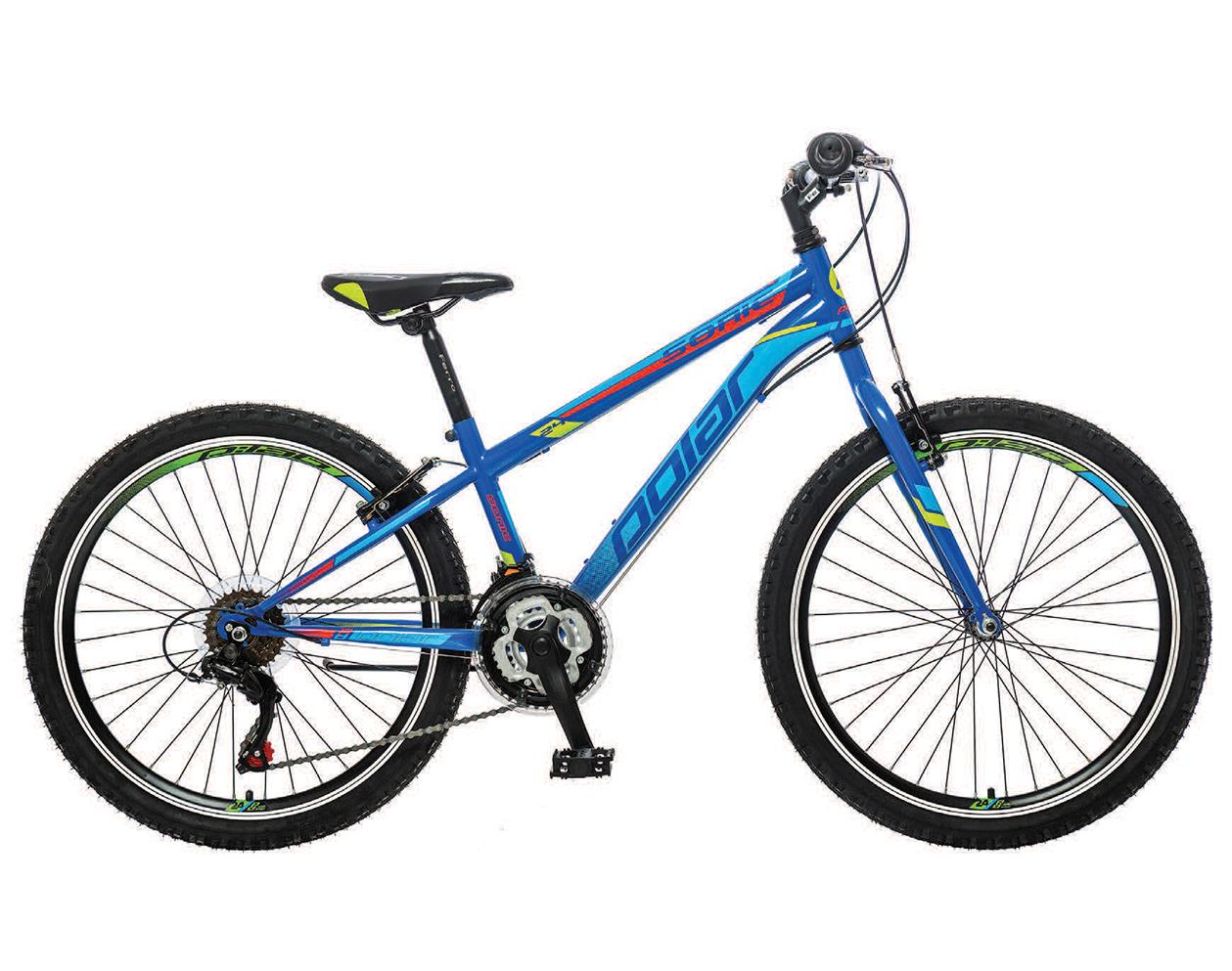 Велосипед Polar Sonic 24 инча син