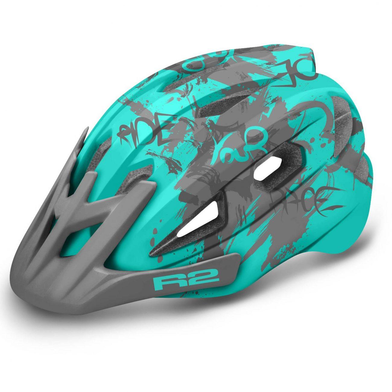 детска каска за колело r2 blue