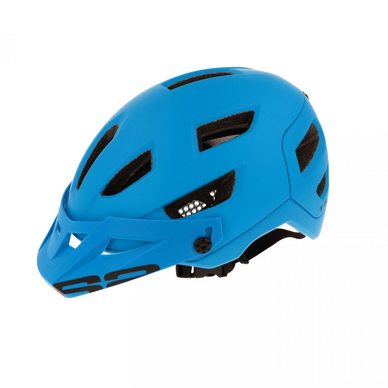 каска за велосипед r2 traile blue