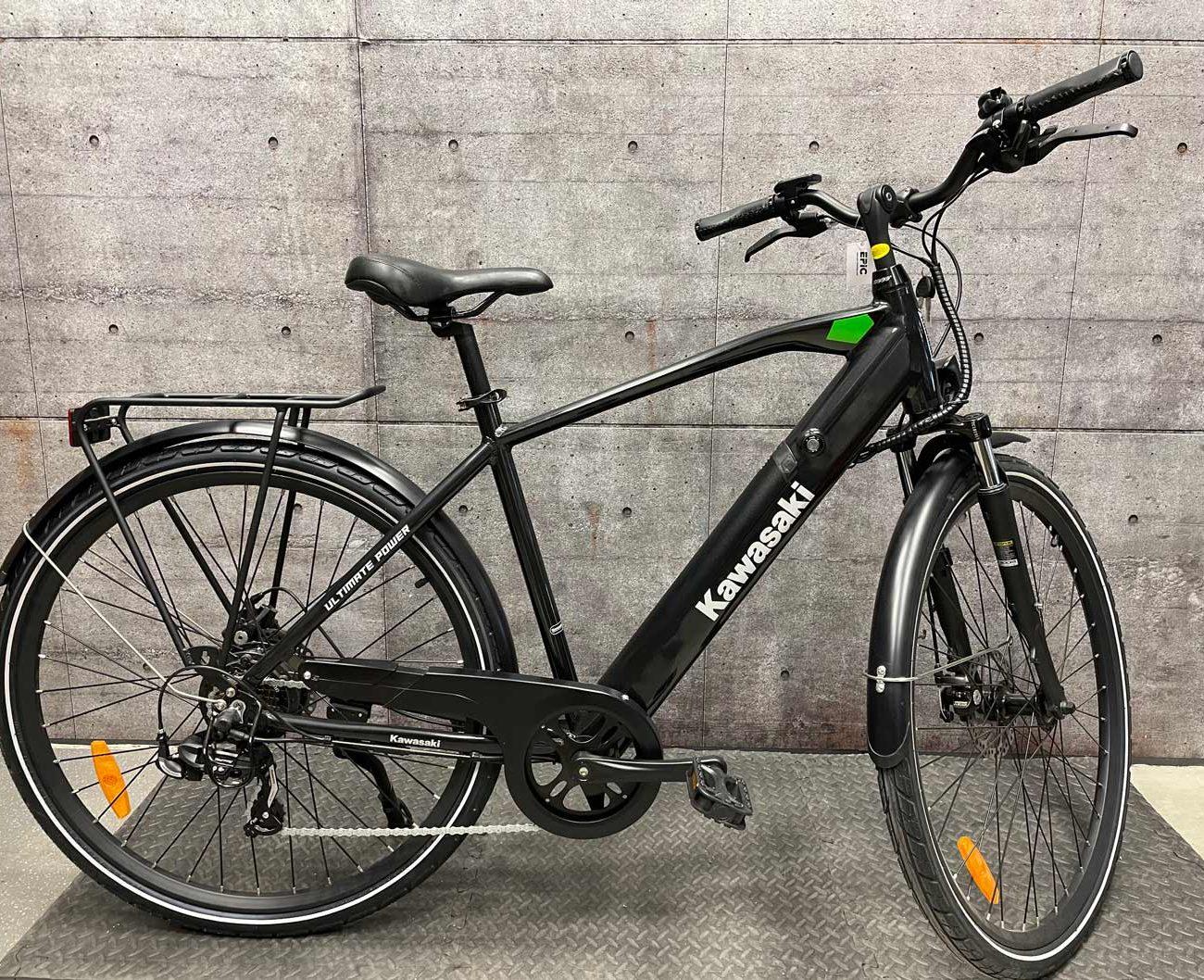 електрически трекинг велосипед kawasaki city
